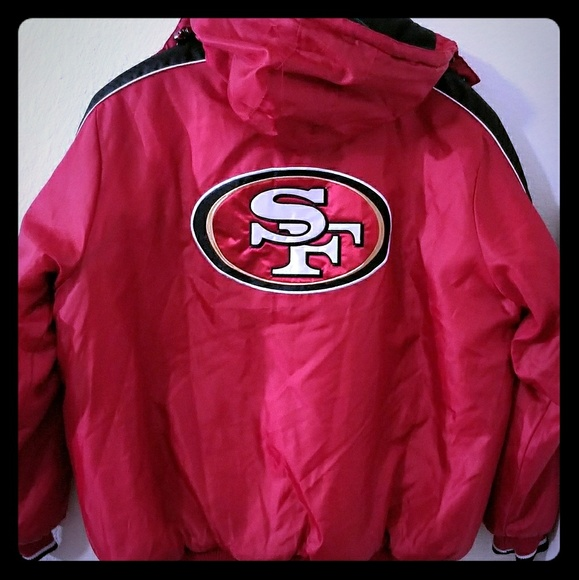 hot sale online de6bb 19757 San Francisco 49ers full zipped pullover jacket.